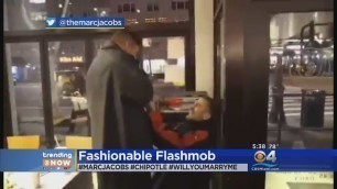 'TRENDING: Fashion Designer Marc Jacobs Uses Flash Mob To Help Propose'