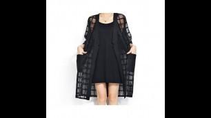 'Plus Size Summer Style Fashion Womens Clothing 2015 New Arrival Black Plaid Print Loose T Shirt Shor'