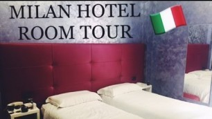 'Milan Italy Hotel Room Tour | Fashion Institute of Technology Study Abroad | LadyInGold_'
