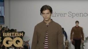'Oliver Spencer - London Fashion Week | Full Show | British GQ'