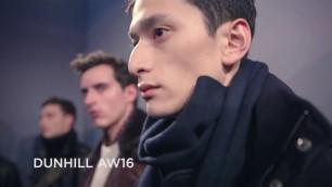 'Dunhill Fall/Winter 2016/2017 Menswear Collection - London Fashion Week'