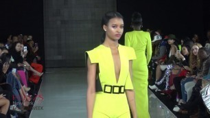 'D\'Anthony Designs New York USA at PLITZS New York City Fashion Week on Thursday February 15 2018'