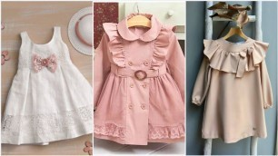 'top classic and demanding baby dress designing ideas for party wear //Daily dealit for Moms'