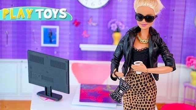 'Barbie Doll Fashionista Designs New Dresses from Play Doh!'
