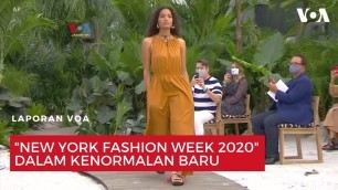 "'\""New York Fashion Week 2020\"" dalam Kenormalan Baru'"
