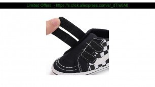 '☄️ Baby Shoes Boy Girl New ColorsCheap Canvas Booties Fashion 0-2 Years Hook Loop Baby Boots First'