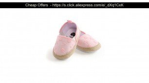 'Promo 2020 Baby Girl Shoes Casual Non-slip Soft Embroidered Toddler Shoes Baby First walkers Crib S'