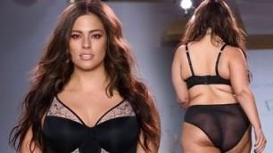 'plus size hot fashion show catwalk - what clothing looks like on plus-size women 2017'