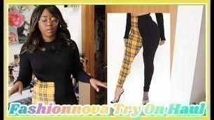 'Fashion Nova Try On Haul #2- Black Friday Purchase Finally Arrived!'