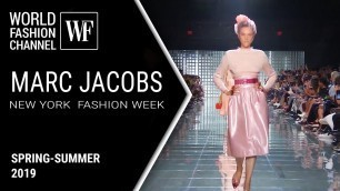 'Marc Jacobs spring-summer 2019 | New York fashion week'