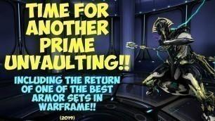 'Warframe - PRIME UNVAULTING: Volt Prime & Loki Prime Are Coming Back!! (2019)'