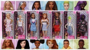 '2019 Barbie Fashionistas Doll Showcase [Wave 2]'