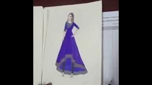 'Fashion Illustration Portfolio    Part: 01    BGMEA University of Fashion & Technology'