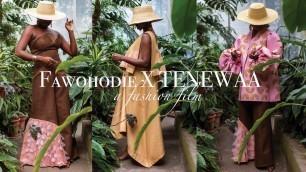 'FAWOHODIE x TENEWAA || 7th Semester Collection Presentation || Fashion Institute of Technology 2020'