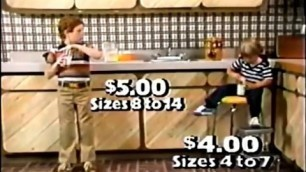 '\'70s Fashion: Kmart Boys\' Wear Commercial (1979)'