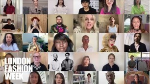 'Voices of London Fashion Week'