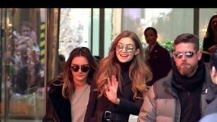 'EXCLUSIVE:  Gigi Hadid leaving Paris after the 2016 Victoria Secret fashion show'