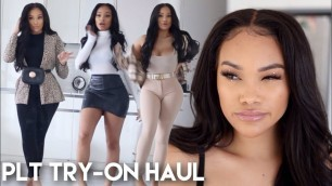 'HUGE PRE- BLACK FRIDAY FALL TRY ON HAUL 2019 | PRETTYLITTLETHING HAUL | ALLYIAHSFACE'