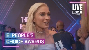 'Gwen Stefani Makes a Big Fashion Statement at E! PCAs   E! People's Choice Awards'