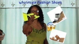 'Wholesale Fashion Shoes Haul just $10.88 Review & Try On   Summer try on haul'