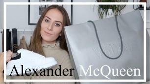 Buying My First Designer Shoes! | Alexander McQueen