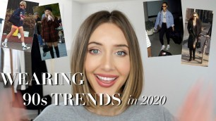 HOW TO STYLE 90s TRENDS IN 2020 | looks from 90s style icons