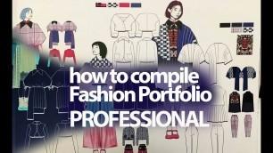 'Portfolio Documentation Professional part 1 fashion designer portfolio how to compile portfolio'