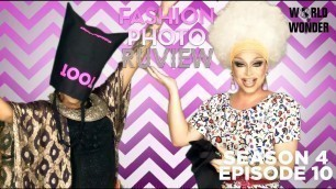 'RuPaul\'s Drag Race Fashion Photo RuView with Raja and Raven: Season 4 Episode 10'