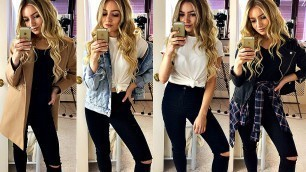 'HOW TO MAKE ANY BASIC OUTFIT LOOK GOOD! / FASHION HACKS'