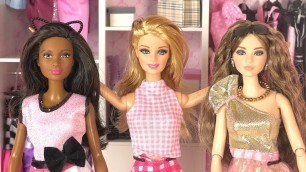 'Barbie Doll Bedroom | Doll Closet and Fashion Clothes | Playing Toys and Dolls'