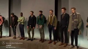 'J.CREW MERCEDES-BENZ FASHION WEEK FW 2015 COLLECTIONS'