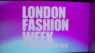 'LONDON FASHION WEEK SEPTEMBER 2017 PREVIEW'