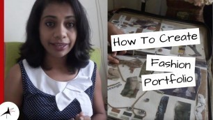 'How To Create A Fashion Portfolio   What To Include In That? (NIFT)   Arpitha Rai'