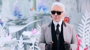 'Karl Lagerfeld on the Spring-Summer 2015 Haute Couture Show – CHANEL Shows'