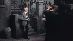 'Karl Lagerfeld on the Paris in Rome 2015/16 Métiers d\'art Show – CHANEL Shows'