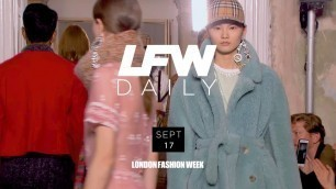 'LFW September 2017 | Day 2 Highlights with Adwoa Aboah'