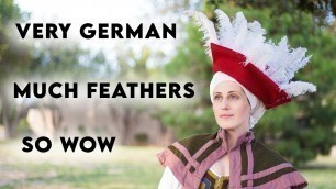 'GERMAN RENAISSANCE LANDSKNECHT HAT: Curled Feathers and Absolute Fashion'