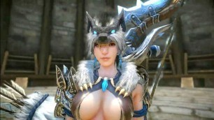 'Monster Hunter Online - New Fashion Costumes Frost Wolf vs Sexy CatWoman November Update'