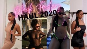 'Black Friday Haul 2020//Fashion Nova/ Shein/ Macy\'s/Nordstrom'