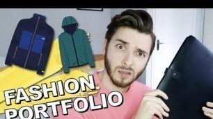 'HOW TO MAKE A FASHION PORTFOLIO: Fashion Designer Tutorial How to layout your portfolio.'