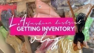 'BOUTIQUE ENTREPRENEUR VLOG 2020 | LA Fashion District, Wholesale Clothing Vendors |Simply Michele'