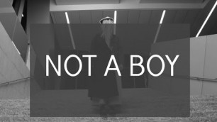 'NOT A BOY - FASHION INSTITUTE OF TECHNOLOGY'