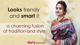 'Looks Trendy And Smart In Handloom Sarees (24th February) - 24FJ'