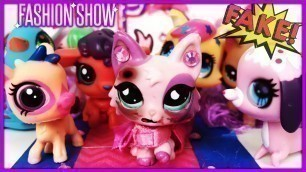 'FAKE LPS Beat Me Up! (My New LPS Fashion Show: Episode 2)'