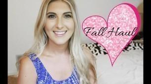 'Fall Clothing Haul   J Crew   Kate Spade   Nicole Voute'