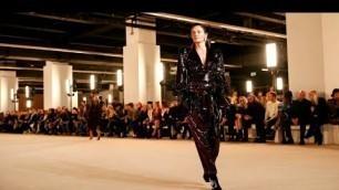 'BALMAIN Fall Winter 2020/21 - Paris Fashion Week | Full Fashion Show | Haute Life'