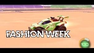 'Fashion Week | Rocket League Montage'