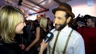'WEB CHANNEL TV im Interview mit Massimo Sinató auf der Fashion Week 2015 in Berlin'