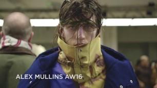 'Alex Mullins Fall/Winter 2016/2017 Menswear Collection - London Fashion Week'