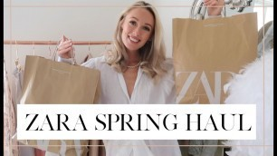 'HOW TO MAKE ZARA LOOK EXPENSIVE // Zara Spring 2020 Haul + Try On // Fashion Mumblr'